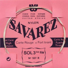 Savarez 527R 3rd Wound Classical Guitar String