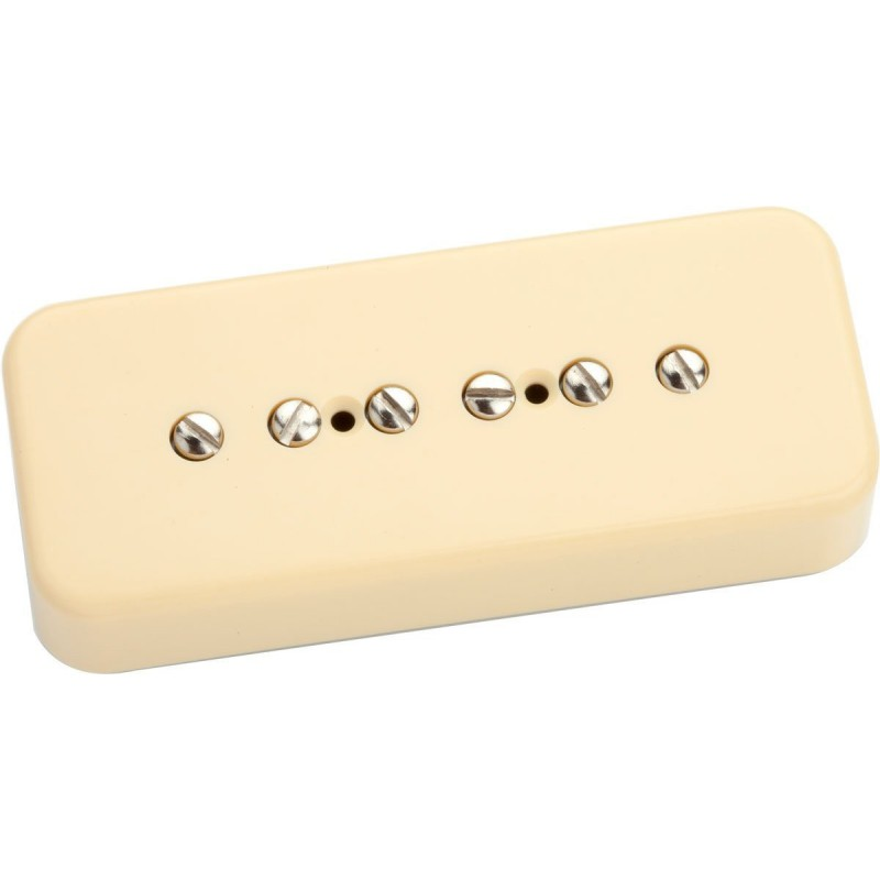 Pastilla Seymour Duncan SP90-3 Custom Cream Soapbar Bridge
