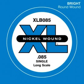D'Addario Nickel Wound Single Bass String XLB 085