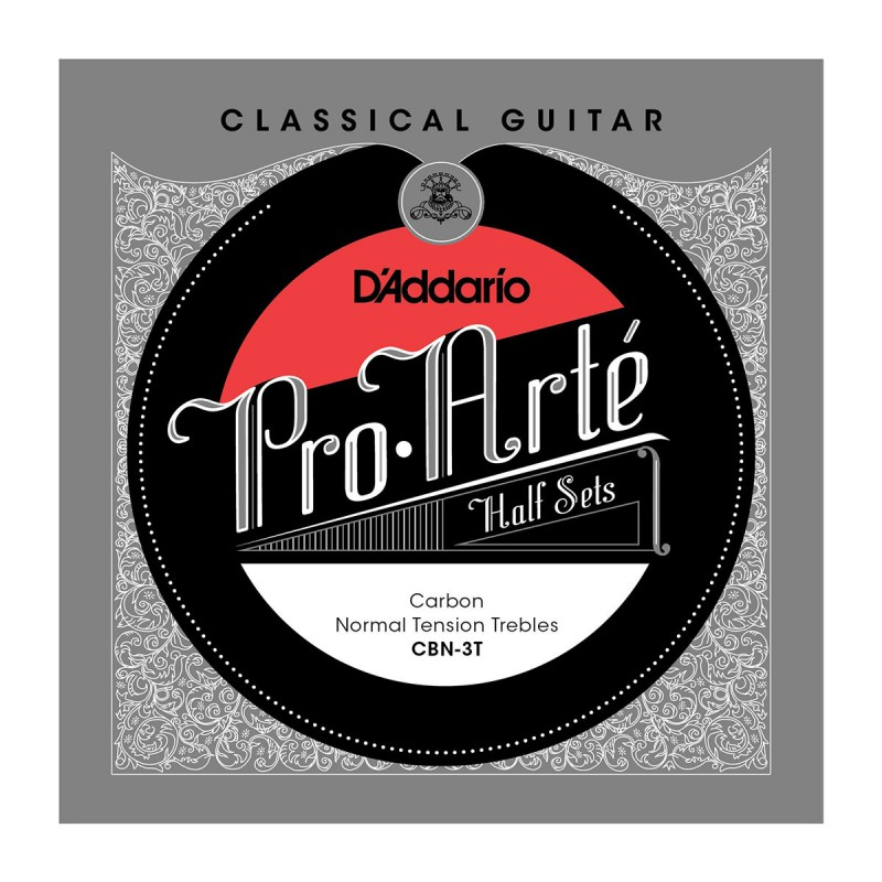 Cuerdas Sueltas D´Addario CBN-3T Classical Halfset Carbon Normal Tension