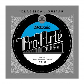 D'Addario CBN-3T Classical Half Set Carbon Normal Tension