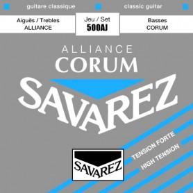 Cuerdas Clásica Savarez Corum Alliance 500AJ Tensión Fuerte