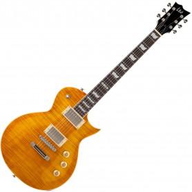 Guitarra Eléctrica ESP-LTD EC-256 FM CSB Cherry Sunburst