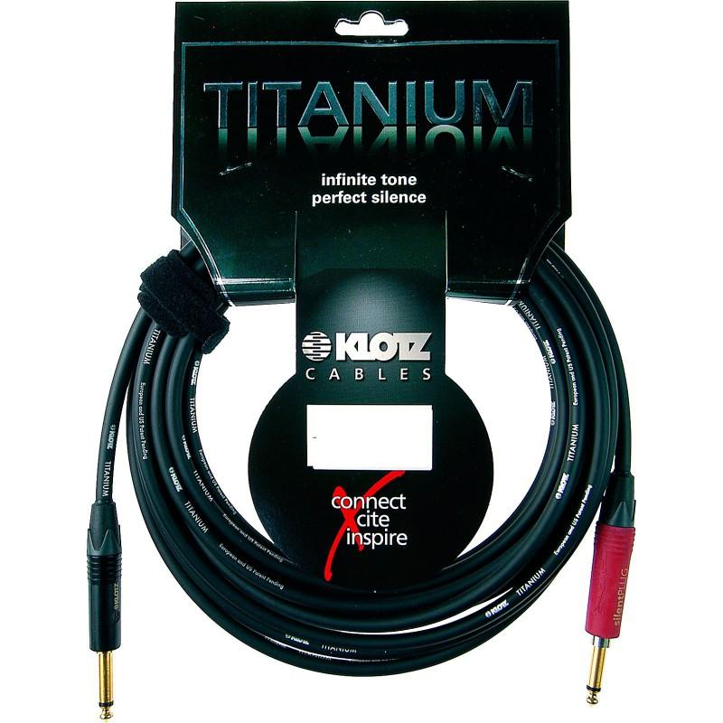 Cable Instrumento Klotz Titanium TI-0450PSP 4.5m.
