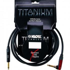 Cable Instrumento Klotz Titanium TIR0450PSP 4.5m.