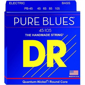 Cuerdas Bajo DR Strings Pure Blues 45-105 Medium