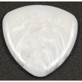 V-Picks Medium Rounded Pearly Gates
