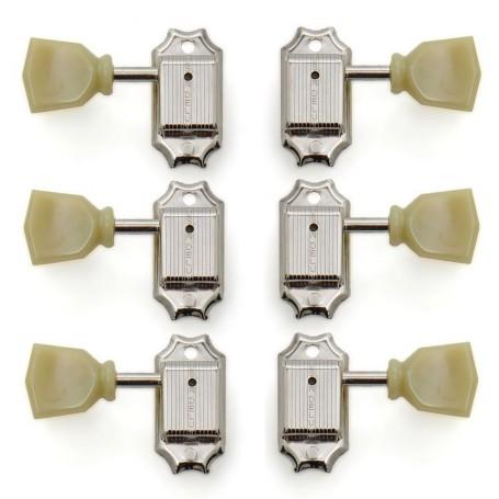 Clavijero Standard 3+3 Kluson M33VC