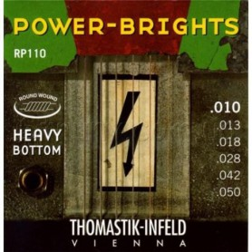 Cuerdas Eléctrica Thomastik Power Brights RP110 10-50