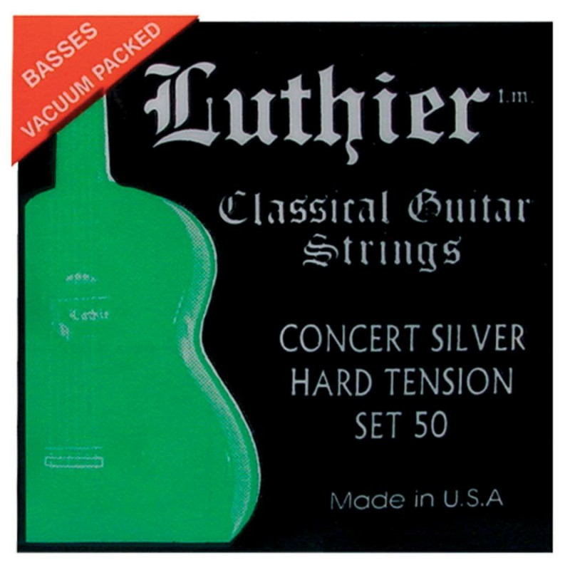 Luthier Set 40 Concert Gold Classical Guitar Strings
