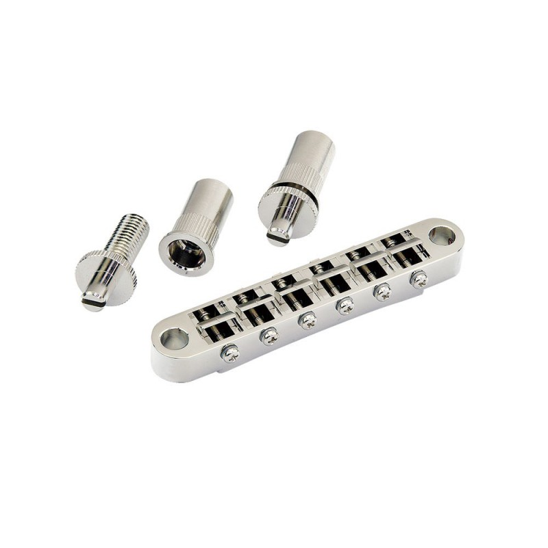 Puente Gotoh GE103B tipo Tune-o-Matic Nickel