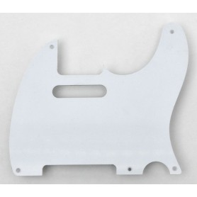 Tele Style 1 Ply White Pickguard