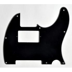 Colpejador tipus Tele Negre 3 Capes Humbucker