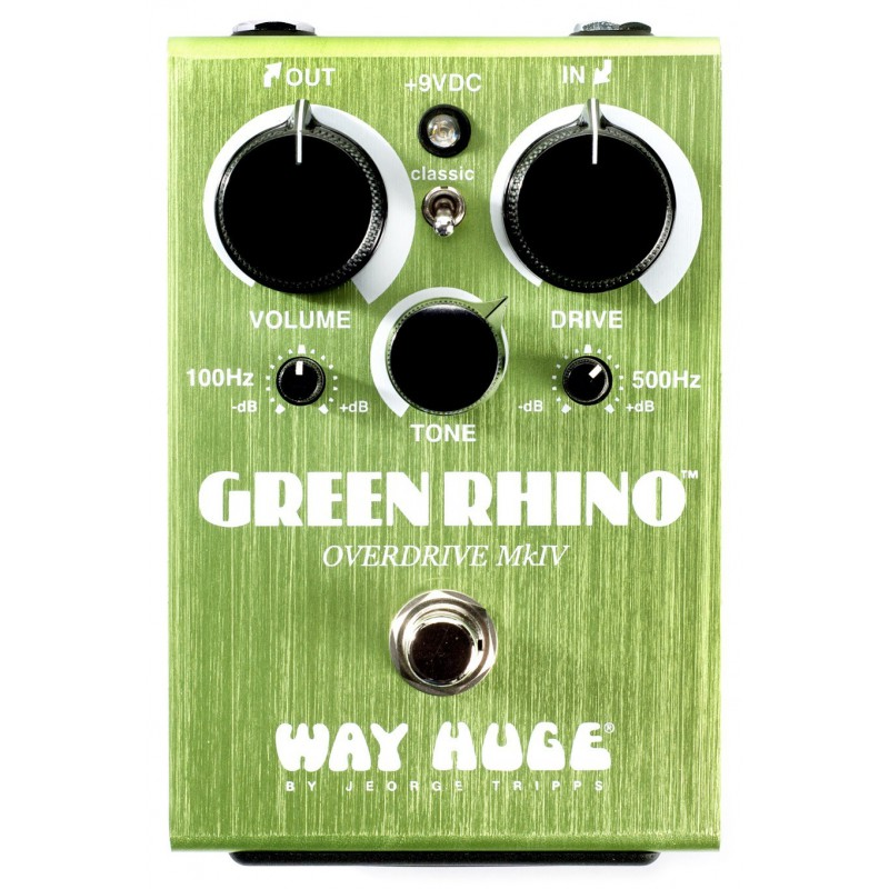 Dunlop Way Huge Green Rhino Overdrive Pedal