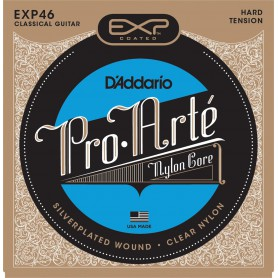Cuerdas Clásica D´Addario EXP46 Coated Silver Plated Hard Tension
