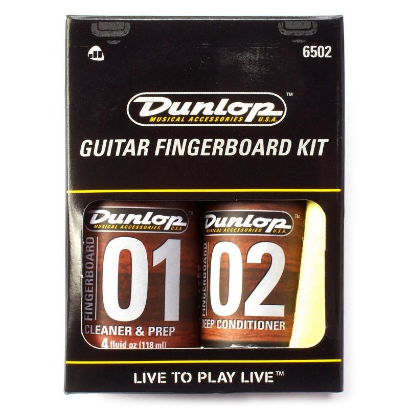 Dunlop 6502 Fingerboard Kit Limpieza Diapasón