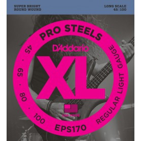 D´Addario EPS170 Pro Steels Bass Strings 45-100