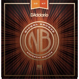 D´Addario Nickel Bronze Acoustic Strings NB1152 11-52
