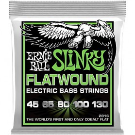 Cuerdas Bajo Ernie Ball 2816 Slinky Flatwound 45-130