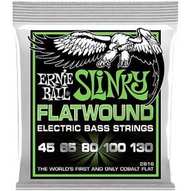 Ernie Ball 2816 Slinky Flatwound 45-130
