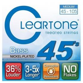 Cuerdas Bajo Cleartone 6445 45-105