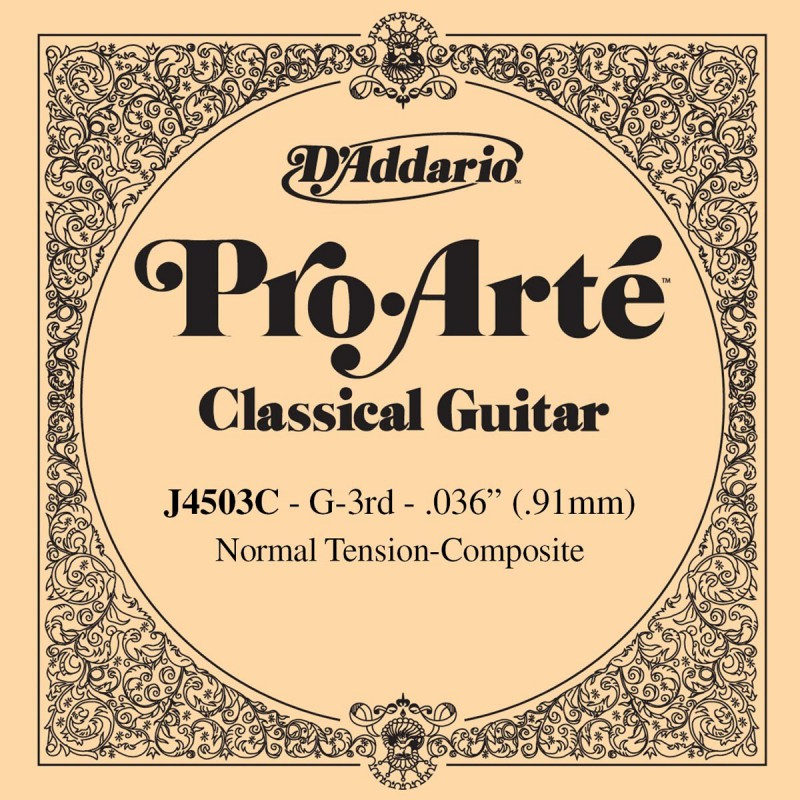 D´Addario ProArte Composite J4603C G Classical Single Guitar String