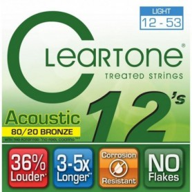 Cuerdas Acustica Cleartone EMP Light 12-53