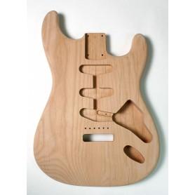Cuerpo de guitarra Goldo tipo Strato en Aliso Sunburst