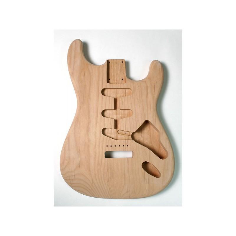 Cos de guitarra Goldo tipus Strato en Alder Sunburst
