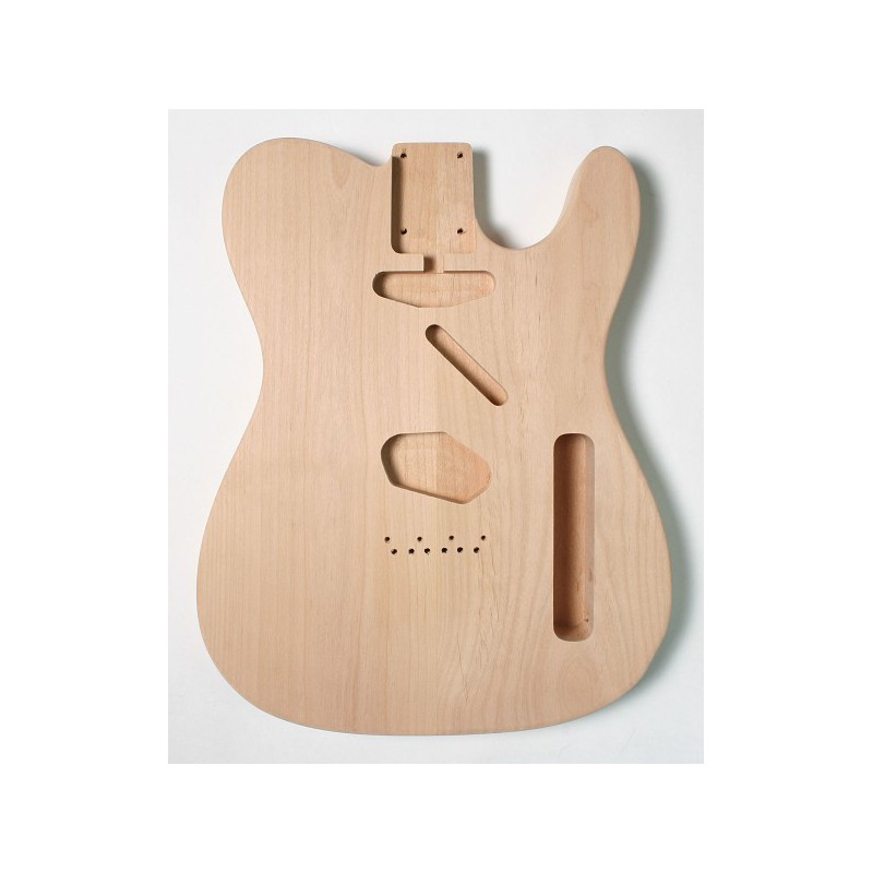 Cos de guitarra Goldo tipus Strato Alder Unfinished
