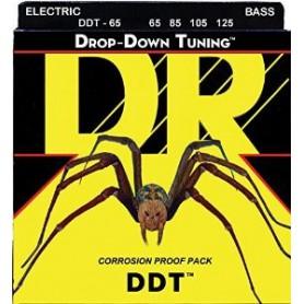 Cuerdas Bajo DR Strings DDT 65 65-125