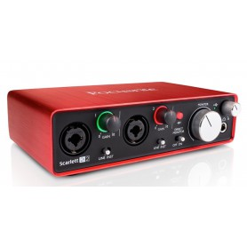 Focusrite Scalett 2i2 2nd Gen USB Interface Audio