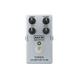 Pedal MXR M89 Bass Overdrive