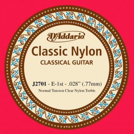 Cuerda Suelta Clásica D´Addario J2701 E/Mi 1st