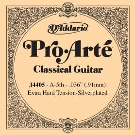 Cuerda Suelta D´Addario ProArte J4405 Extra Hard 5ª A/La