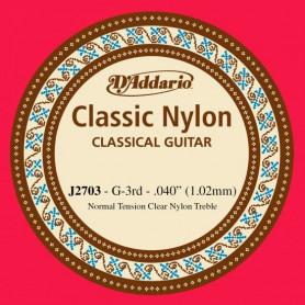 D´Addario Classical Guitar String J2703 G 3rd
