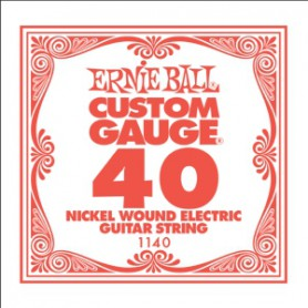 Corda Solta Elèctrica Ernie Ball Nickel entorxada 040
