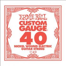Cuerda Suelta Eléctrica Ernie Ball Entorchada 040