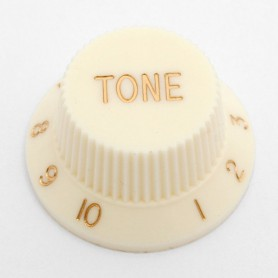 Cream Tone Knob for Strat