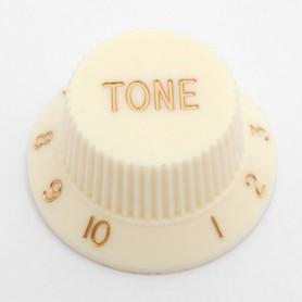 Vintage White Tone Knob for Strat