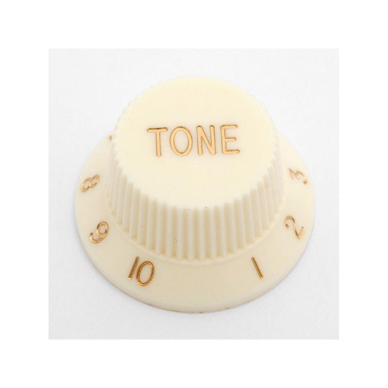Botón de Potenciómetro de Tono Vintage White Strat