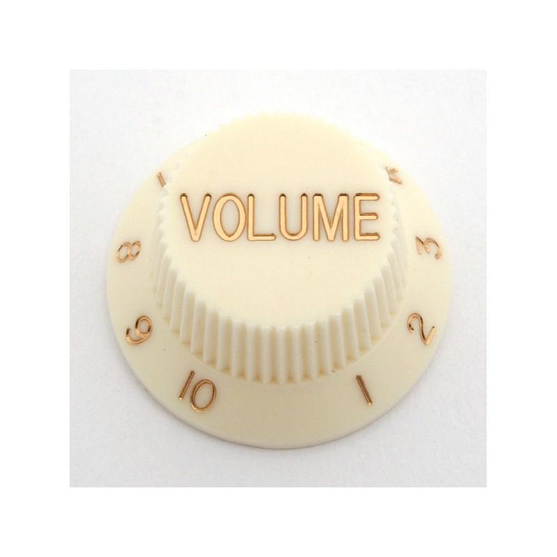 Cream Volume Knob for Strat
