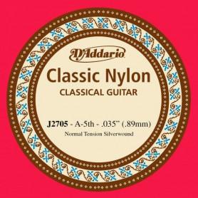 D´Addario Classical Guitar String J2705 A 5th