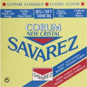 Cuerdas Clásica Savarez 500 CRJ New Cristal Corum