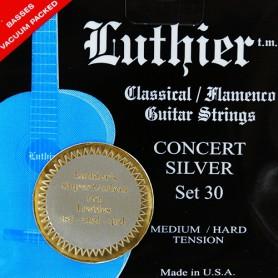 Cordes Clàssica Luthier Set 30 Silver Concert