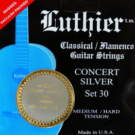 Luthier Set 30 Silver Concert Super Carbon Classical Guitar Strings