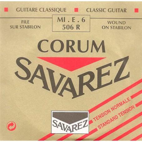 Cuerda Suelta Clásica Savarez 506R E/6ª-E-6th