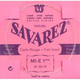 Cuerda Suelta Clásica Savarez 521R E 1ª