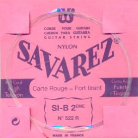 Savarez 522R 2nd Classical Guitar String