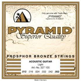 Cuerdas de Acústica Pyramid Premium Bronze Light 12-52